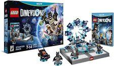 Brand New & Sealed LEGO Dimensions Starter Pack - Nintendo Wii U
