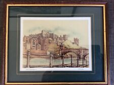 PEN AND INK DRAWING OF DURHAM BY DAVID C HENSHAW