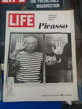 1960s Life Magazine Lot Of 15 Vintage Ads Kennedy Picasso Riots Vietnam