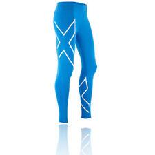 Leggings da donna traspirante blu
