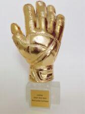 2018 1:1 Trophy World Cup Football Best Goalkeeper Golden Gloves Title Model New