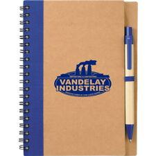 Seinfeld Prop George Costanza Vandelay Industries Eco Spiral Notebook With Pen