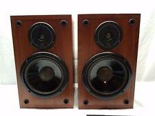 Infinity Bookshelf Speakers SM 62 Re-Foamed