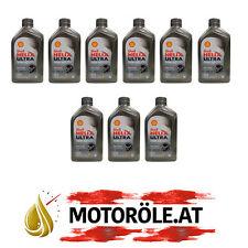 9x1 Liter Shell Helix Ultra Racing 10W-60 Motoröl, ACEA A3/B3/B4 - API SN/CF