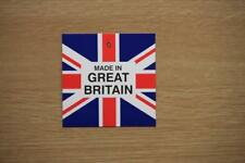 50 MADE IN GREAT BRITIAN UNION FLAG SWING TAGS TICKETS