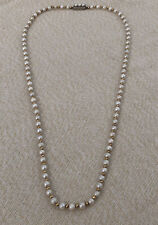 Continental Silver (835 Grade) Clasp Antique Beaded Neckalce With Beautiful