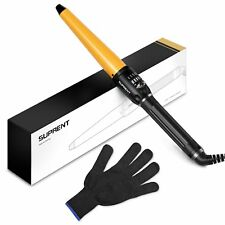 Hair Curling Wand with Heat Resistance Glove, 19mm-32mm Hair Curling Iron