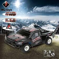 Cool Wltoys A232 1/24 2.4G Electric Brushed 4Wd Rtr Rc Car Short Truck For Gift