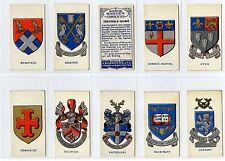 More details for full set, cavanders, school badges 1928 vg (gy068-282)