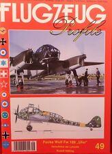 """***FLUGZEUG-PROFILE**Focke Wulf Fw 189 """"UHU""""**Ausgabe 49**ungelesen**"""