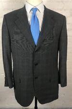 TESSUTO ERMENEGILDO ZEGNA Blazer Men's 44R Gray Dual Vent Vintage