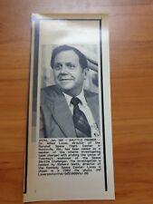 Vintage Wire Photo 1986 Challenger Shuttle Rocket Dr. William Lucas