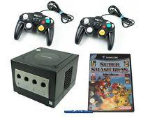 ## Nintendo GameCube Konsole mit 2 Pads, Strom, TV-Kabel, Smash Bros. Melee