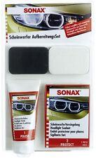 SONAX SCHEINWERFER AUFBEREITUNGS SET REPARATUR HEADLIGHT KFZ PKW 405941