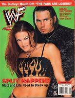 WWF Magazine January 2002 Matt Hardy, Lita, Kane VG 032916DBE