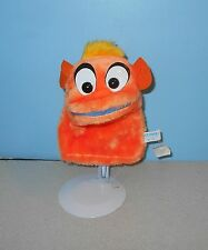 "Vintage Brechuer Toys Orange Creature 8"" Sea World Hand Puppet Stuffed Plush"