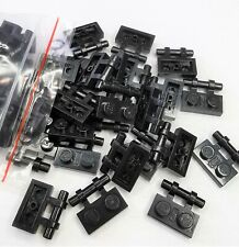 LEGO Bulk Lot of 50 Black Plate Modified 1 x 2 with Bar Handle on Side 2540