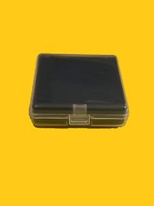 Single CPU Processor Hard Plastic Case/Clamshell w/ Foam Insert  62x58mm – 10 ea