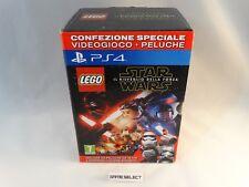LEGO STAR WARS IL RISVEGLIO DELLA FORZA SPECIALE VIDEOGIOCO + PELUCHE PS4 NUOVO