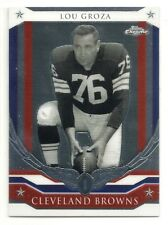 2008 Topps Chrome Honor Roll - #HR-LG - Lou Groza - Cleveland Browns