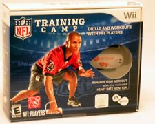 EA Sports Active: NFL TRAINING CAMP Wii Fitness Game+Motion Sensors BUNDLE - NEW