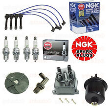 Tune Up Gas Filter Cap,Rotor,NGK Wires+Spark Plug PCV  Honda Civic EX 96 to 00