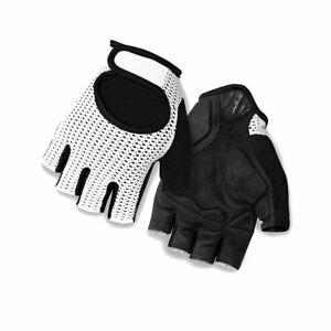 Cycling Gloves Fingerless Giro Siv Road Cycling Mitt 2017 Bright Red Stripe M