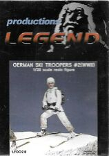 Legend German Mountain Ski Troopers #2 Soldier Ww Ii 1/35 Scale Figure # Lf0028