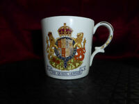 Vintage QUEEN ELIZABETH QUEEN MOTHER 80th Birthday MUG/CUP Aynsley 80 Royal Ware
