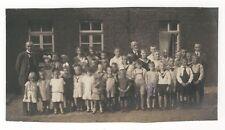 13/204 FOTO SCHULKLASSE 1923   - alte historische Kleidung
