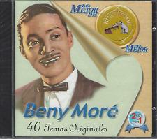 2CDs salsa RARE Beny More BONITO Y SABROSO barbaro del ritmo HOY COMO AYER 40HIT