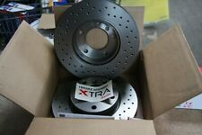 2x Brembo Xtra-Sportbremsscheiben Perforated Ford C - Max, Focus Set For Front