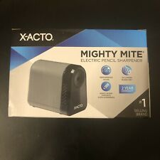 X Acto Electric Pencil Sharpener By Boston Mighty Might 19505 Gray School Office