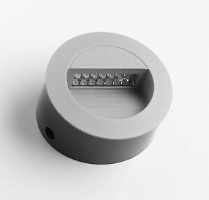 Recessed LED Round Wall Light 6500K Day Light IP65 Fire Rated