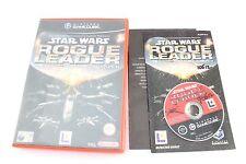 Nintendo Gamecube Star Wars Rogue Líder Escuadrón II PAL COMPLETO V2