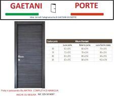 Porta moderna blu matrix completa di maniglia  € 149,00