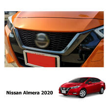 FIT NISSAN ALMERA 2019- 2020 GRILLE GRILL LID COVER TRIM CARBON LOOK