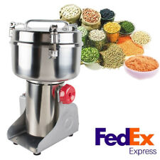 1000g Electric High-Speed Herb Seasoning Feed Mill Grains Grinder Powder Machine