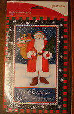 Christmas Holiday Santa Packaged Cards Assortment - Greeting Cards