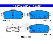 ATE Bremsbelagsatz, Scheibenbremse   für Opel Astra J Astra GTC J Zafira C