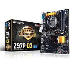 Gigabyte GA-Z97P-D3 Socket LGA 1150 VGA DVI HDMI 8 ATX Motherboard NEW RETAIL