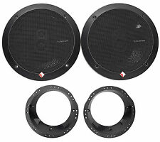 "1998-2013 Harley Davidson Touring Rockford Fosgate Punch 6.75"" 220w Speakers"