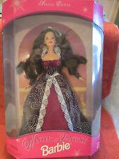 Mattel Winter Fantasy Barbie Special Edition 1996 Brunette - NRFB - 17666  (a3)