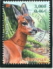 STAMP /// TIMBRE FRANCE OBLITERE N° 3382 FAUNE / CHEVREUIL
