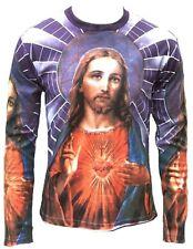 Märtyrer JESUS CHRISTUS Heiligenschein Religion Super Star T-Shirt XL
