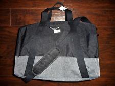 NWT Hollister By Abercrombie Colorblock Book Bag Weekender/Gym Black Bag New