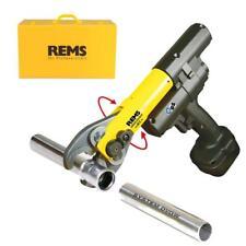 REMS Akku-Radialpresse mit Zwangsablauf Mini-Press Acc 578012