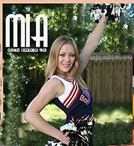 Oh My! MIA's Cute Cheerleading Uniform CHEERLEADER Skirt & Top TOP Sport MODEL
