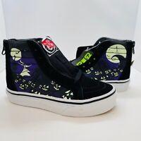 Vans x Disney Sk8-Hi Zip Nightmare Before Christmas Jack's Lament Shoes Kids