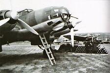 WW2 - Bombardiers Heinkel de la Légion Condor en Espagne en 1937